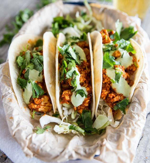 Spicy Tofu Tacos
